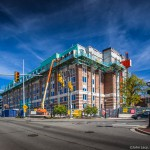 Munger Hall Graduate Dorm Construction University of Michigan by Proshooter