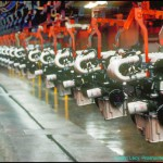 Engines at Assembly Plant by Proshooter